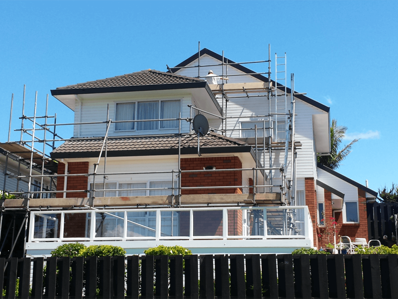 Residential Scaffolding. Scaffolding Services Waikato.